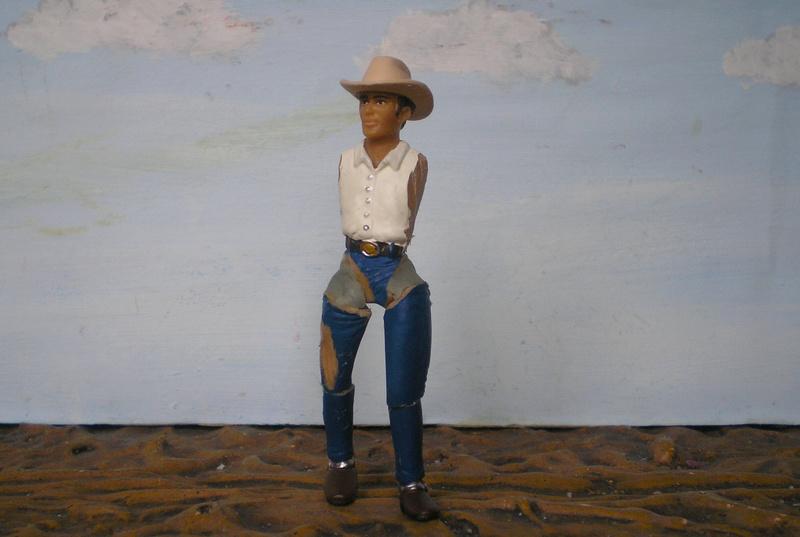 Bemalungen, Umbauten, Modellierungen - neue Cowboys für meine Dioramen - Seite 4 252c2b10