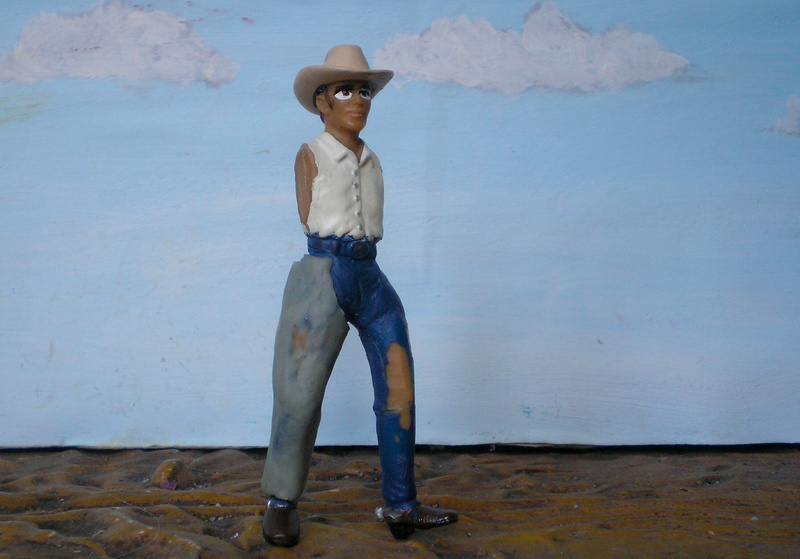 Bemalungen, Umbauten, Modellierungen - neue Cowboys für meine Dioramen - Seite 5 252c2e10