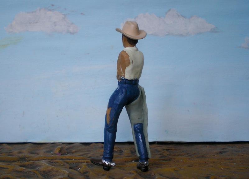 Bemalungen, Umbauten, Modellierungen - neue Cowboys für meine Dioramen - Seite 5 252c2e11