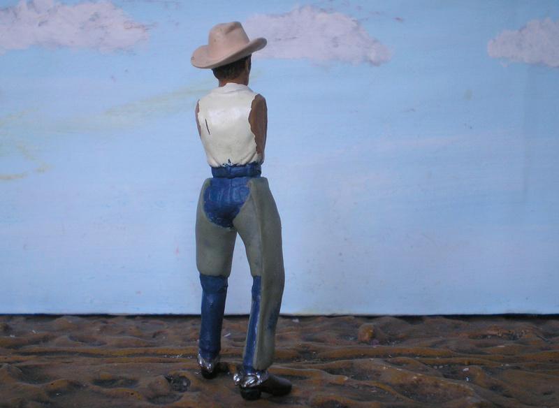 Bemalungen, Umbauten, Modellierungen - neue Cowboys für meine Dioramen - Seite 5 252c2f10