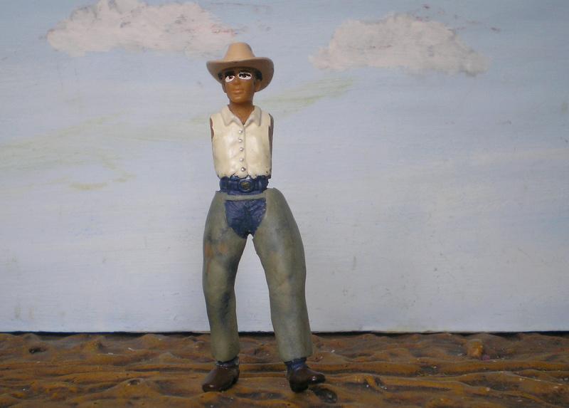 Bemalungen, Umbauten, Modellierungen - neue Cowboys für meine Dioramen - Seite 5 252c2h10