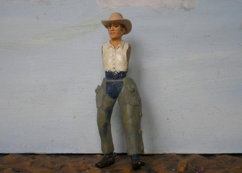 Bemalungen, Umbauten, Modellierungen - neue Cowboys für meine Dioramen - Seite 6 253c1n10
