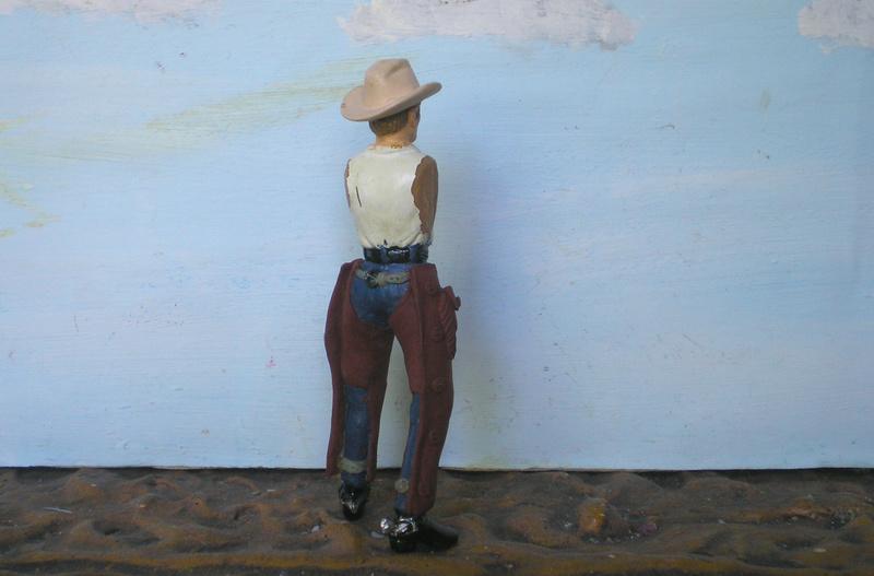 Bemalungen, Umbauten, Modellierungen - neue Cowboys für meine Dioramen - Seite 6 253c2b10