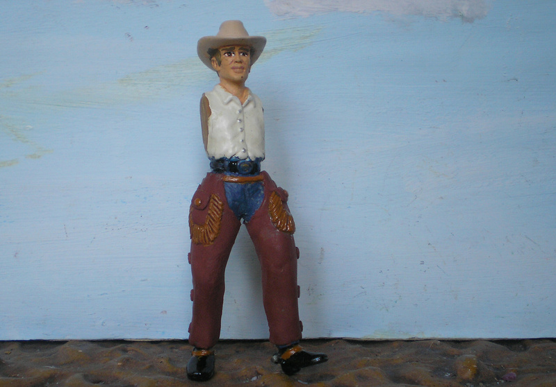 Bemalungen, Umbauten, Modellierungen - neue Cowboys für meine Dioramen - Seite 6 253c2c10