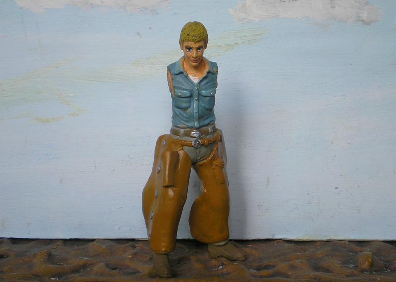 Bemalungen, Umbauten, Modellierungen - neue Cowboys für meine Dioramen - Seite 6 254c3d11