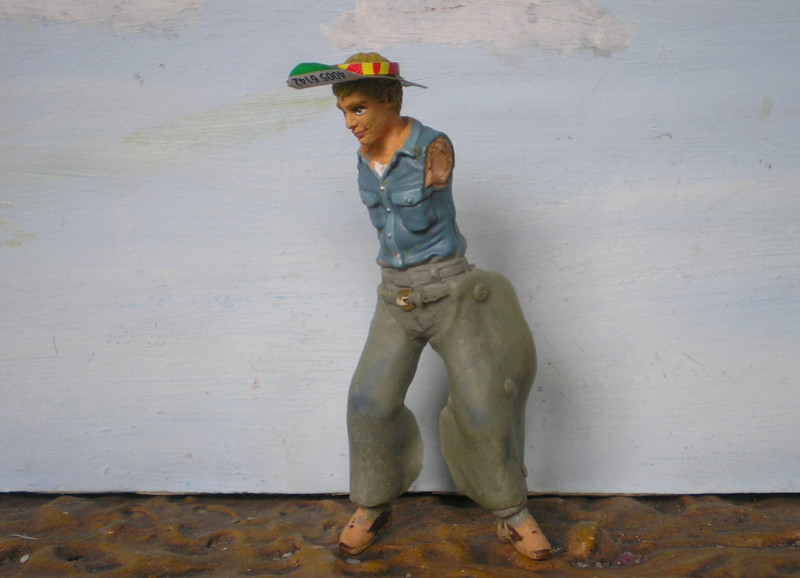 Bemalungen, Umbauten, Modellierungen - neue Cowboys für meine Dioramen - Seite 5 254e1b11
