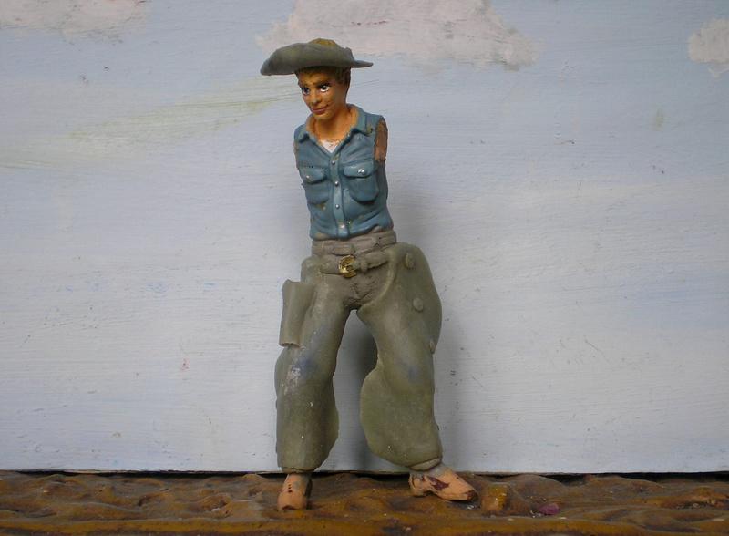 Bemalungen, Umbauten, Modellierungen - neue Cowboys für meine Dioramen - Seite 6 254e2d10