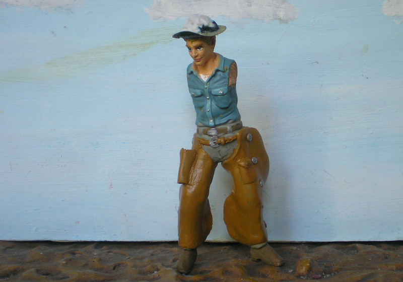 Bemalungen, Umbauten, Modellierungen - neue Cowboys für meine Dioramen - Seite 6 254f2b10