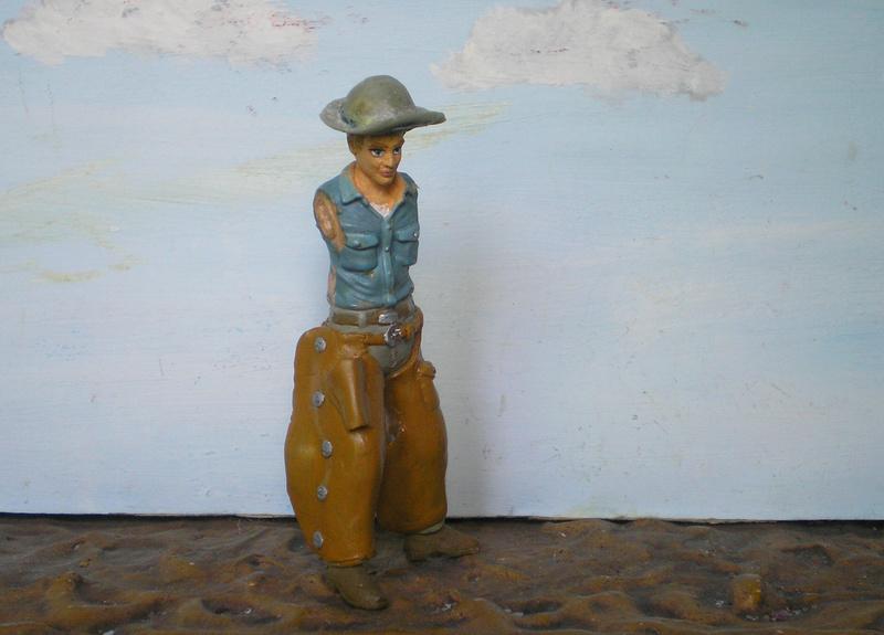 Bemalungen, Umbauten, Modellierungen - neue Cowboys für meine Dioramen - Seite 6 254f2e11