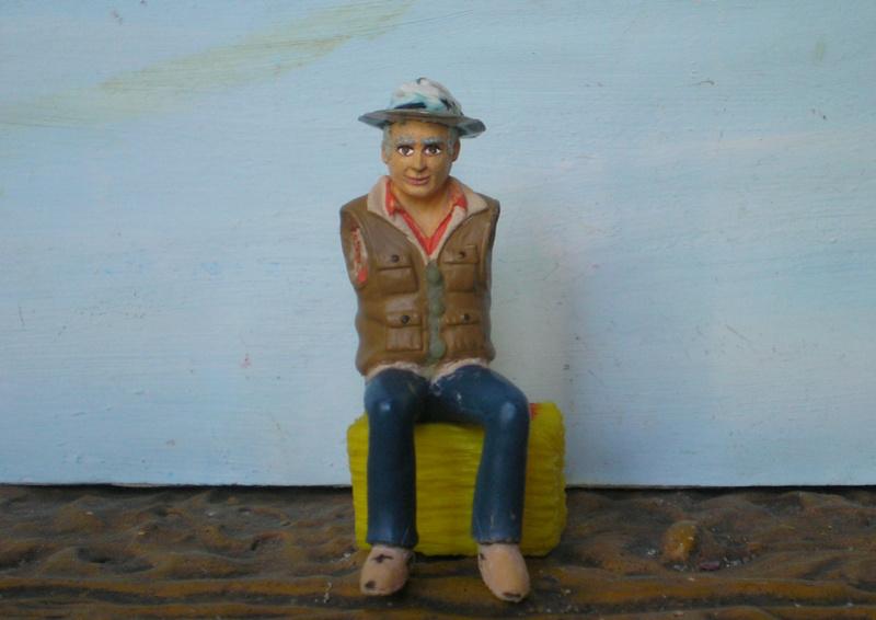 Bemalungen, Umbauten, Modellierungen - neue Cowboys für meine Dioramen - Seite 6 255f2b10