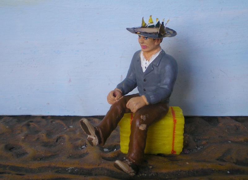 Bemalungen, Umbauten, Modellierungen - neue Cowboys für meine Dioramen - Seite 5 256c1a10