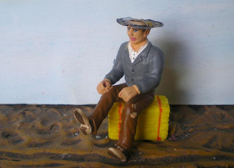 Bemalungen, Umbauten, Modellierungen - neue Cowboys für meine Dioramen - Seite 5 256c1b10