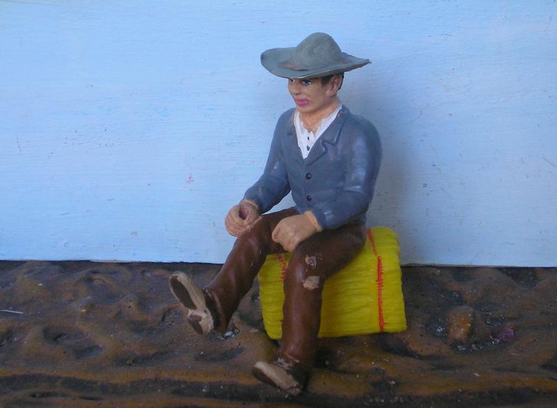 Bemalungen, Umbauten, Modellierungen - neue Cowboys für meine Dioramen - Seite 6 256c2b10