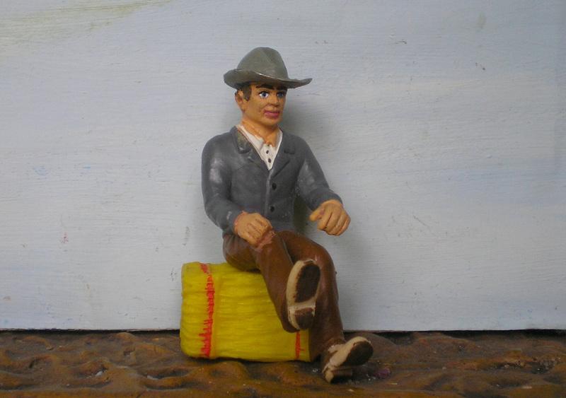Bemalungen, Umbauten, Modellierungen - neue Cowboys für meine Dioramen - Seite 6 256c2c10