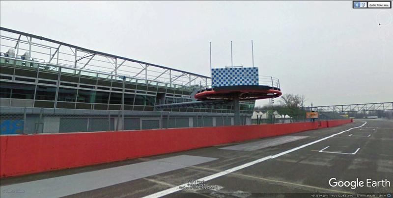 Roulez sur les circuits automobile et moto avec Street View Monza110