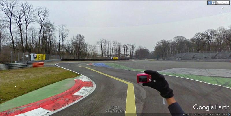 Roulez sur les circuits automobile et moto avec Street View Monza210