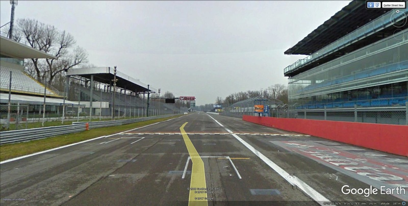 Roulez sur les circuits automobile et moto avec Street View Monza310
