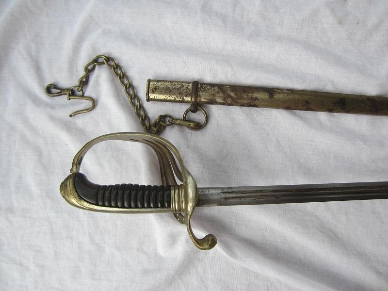 Sabre de type 1882 avec belière... DERNIÈRE BAISSE DE PRIX - VENDU Img_4431