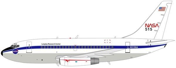 NASA Boeing 737-100 et L-1011 Tristar Orbital ATK B737na10
