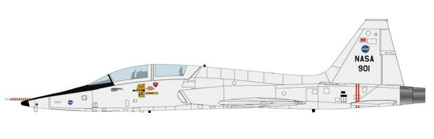 Hobby Master 1/72 T-38A NASA T38-te11