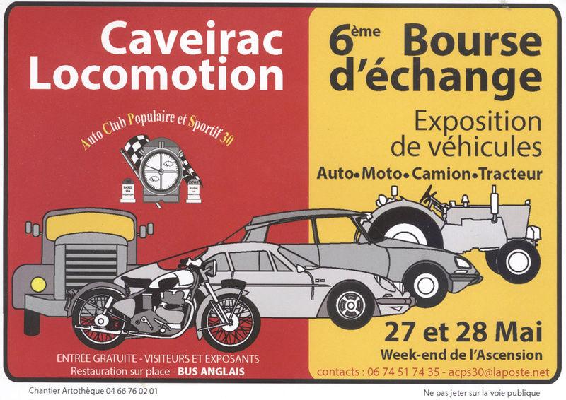 Caveirac Locomotion, rassemblement annuel 6eme édition Flyer_11