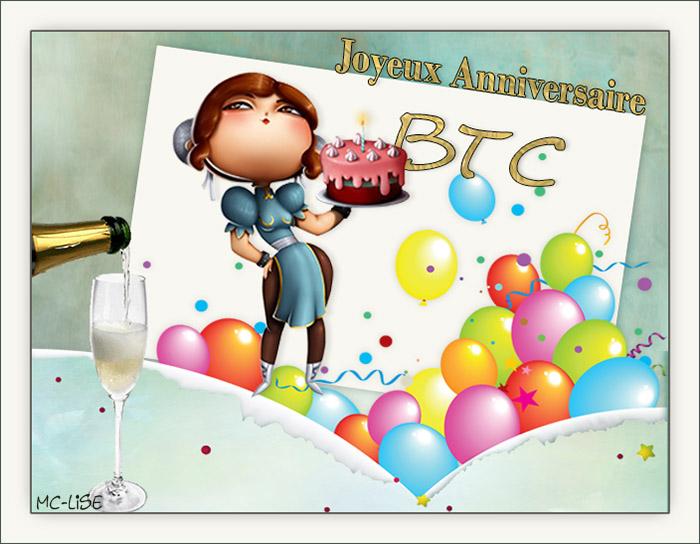 JOYEUX ANNIVERSAIRE BTC Btc10