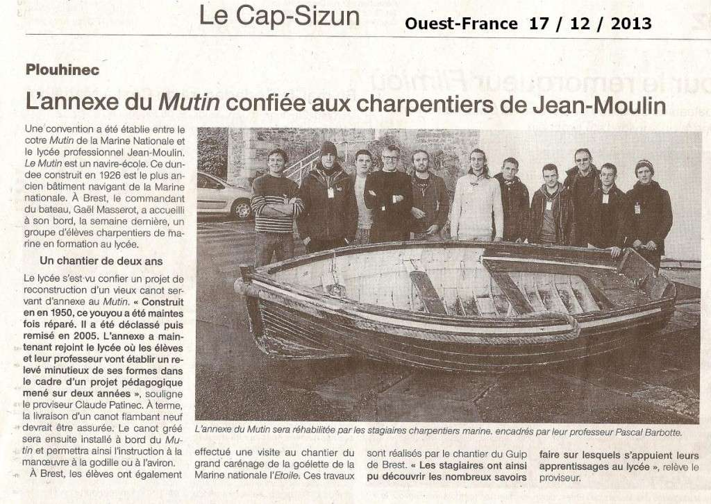 LE MUTIN (BE) - Page 4 Numari20