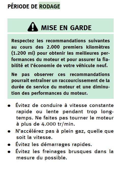 """Thread """"voitures coup de cœur"""" et """"toi tu conduis quoi ?"""" - Page 6 Rodage10"""