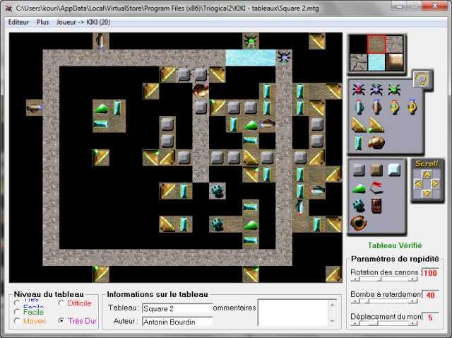 Map#11 : Square 3 Square12