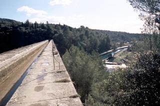 Trail de Fontaine de Vaucluse (16/02/2014) - petit parcours Pont-a10