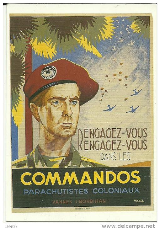 Affiche parachutistes coloniaux 612_0010