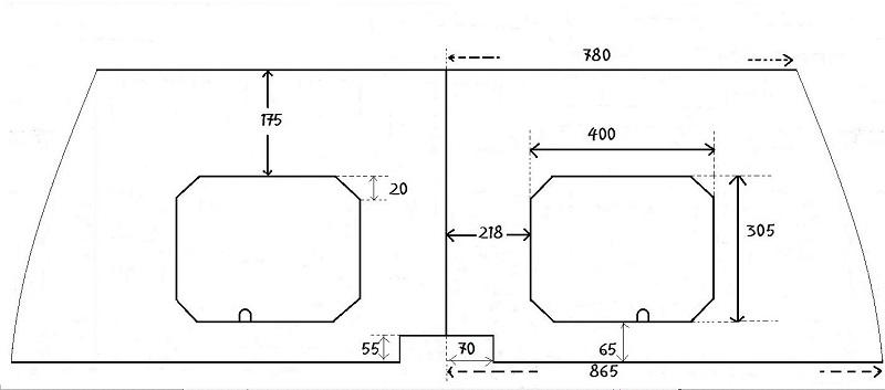 Ouvertures  dans  supports  de  couchettes Planb10