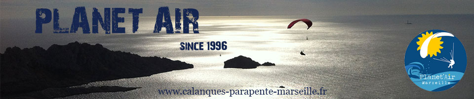 MARSEILLE -----  CALANQUES et PARAPENTE