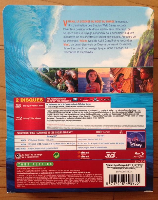 [BD 3D + BD + DVD + STEELBOOK] Vaiana, la Légende du Bout du Monde (2017) - Page 4 211