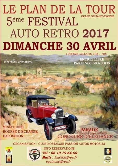 5ème Festival Auto Retro 2017 du Plan de La Tour 0110