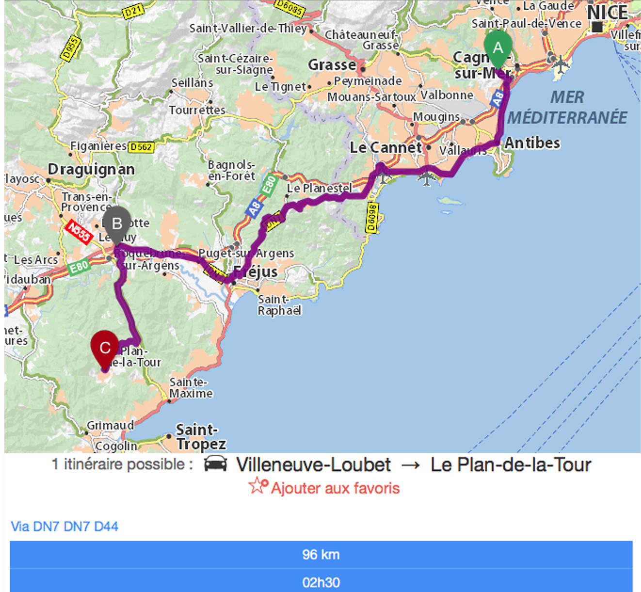 5ème Festival Auto Retro 2017 du Plan de La Tour Aller10