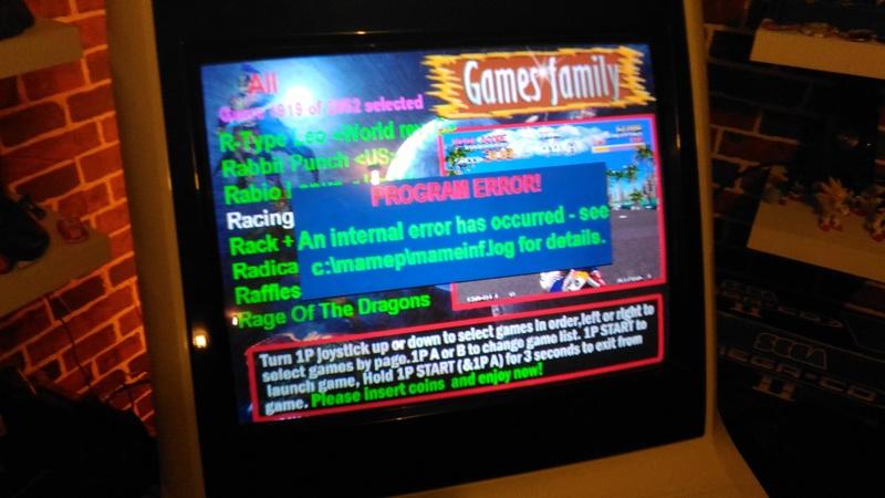 Game family 3000 en 1 sur Astro City P_201712