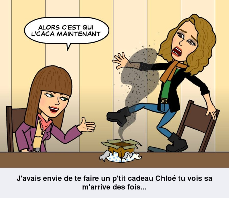 Application : Bitstrips Cquilc10