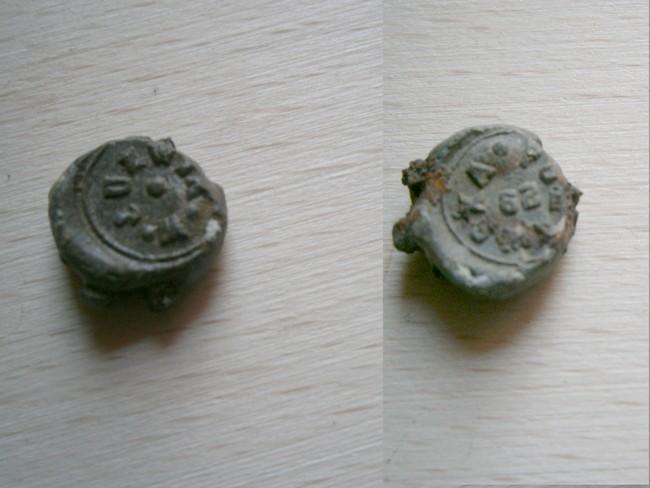"Plombs de scelle ""W. Juźwik - Puławska 29"". 01917"