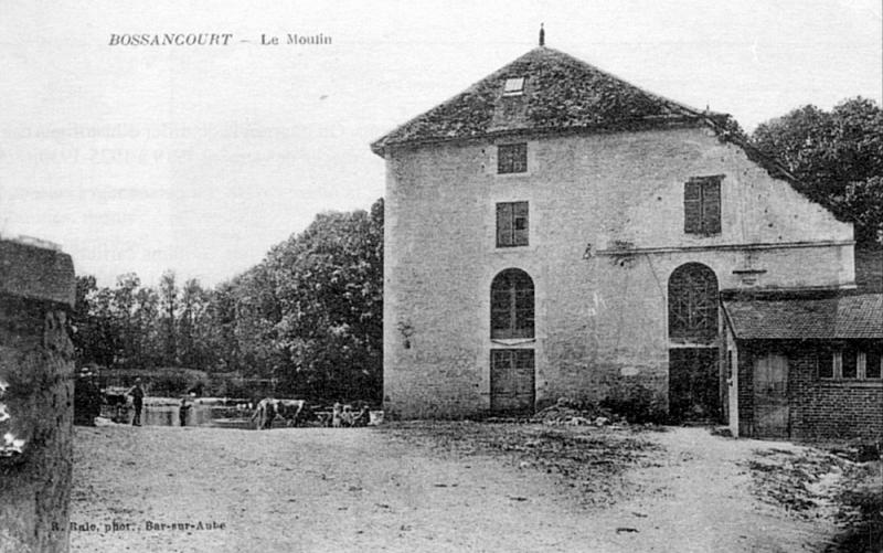 """Aube - Plomb de scelle """"Chaput meunier a Bossancourt"""". Bossan10"""