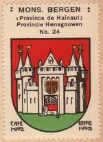 Le coin des debutants : Les armoiries des villes. 2eme partie - Les villes etrangeres. section 1/2. Mons_h10