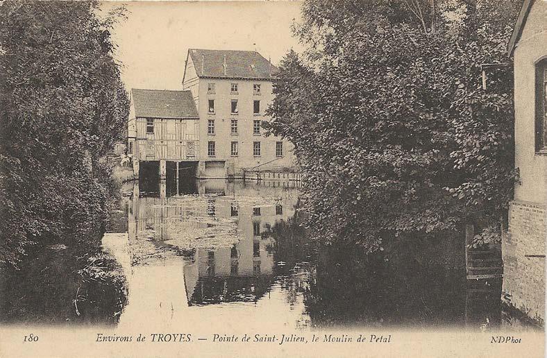 "Aube - Plomb de scelle ""JEANNE FILS & VERON - Troyes"". Moulin16"