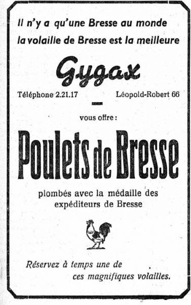 """Scelle d'aluminium """"U.D.S. des expediteurs de Bresse"""". Poulet11"""