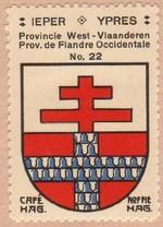 Le coin des debutants : Les armoiries des villes. 2eme partie - Les villes etrangeres. section 1/2. Ypres11