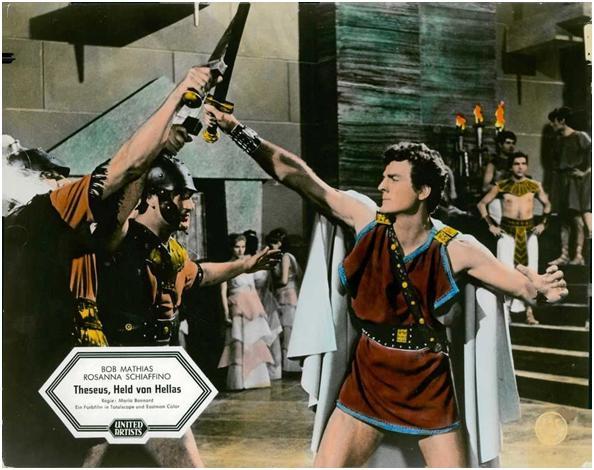 Thésée Et Le Minotaure - Teseo contro il minotauro - Silvio Amadio 1960 69b7c512