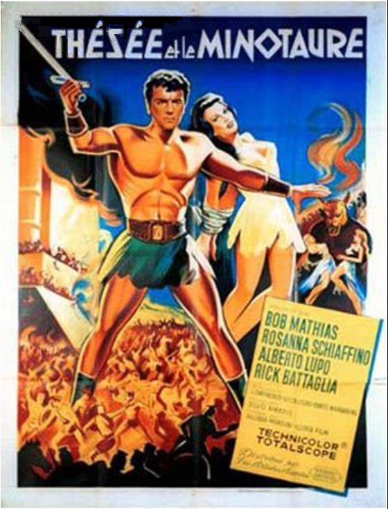 Thésée Et Le Minotaure - Teseo contro il minotauro - Silvio Amadio 1960 El_chu11