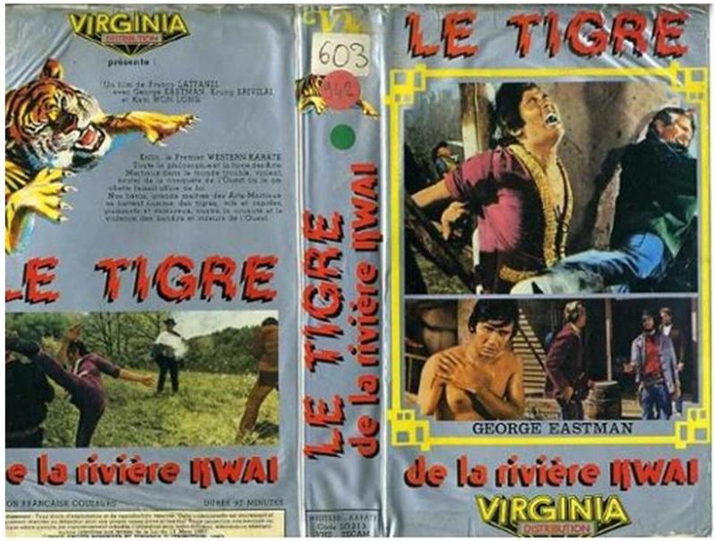 La tigre de la rivière Kwai ( La tigre venuta dal fiume Kwai ) - 1975 - Franco Lattanzi Le-tig10