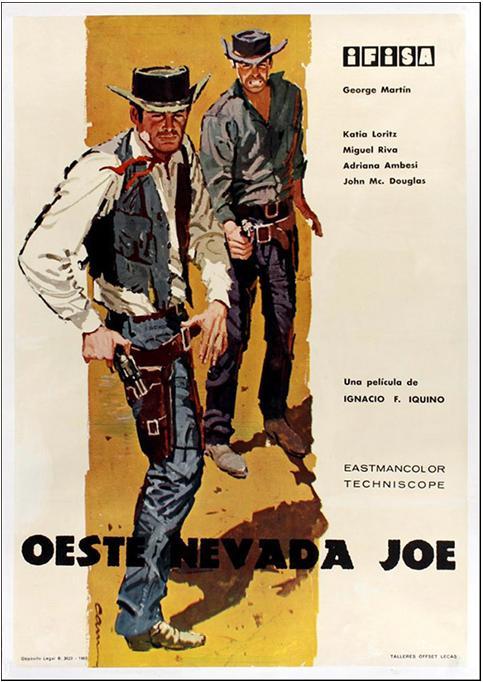 Le défi des implacables . ( Oeste Nevada Joe ) . 1964 . Ignacio F. Iquino . Le_tue16