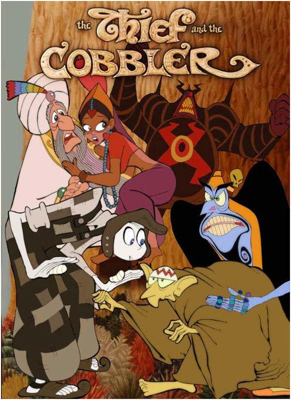 Le Voleur et Le Cordonnier - The Thief and The Cobbler - Richard Williams   (commencé en 1960-1993 sortie Miramax) Nve00016