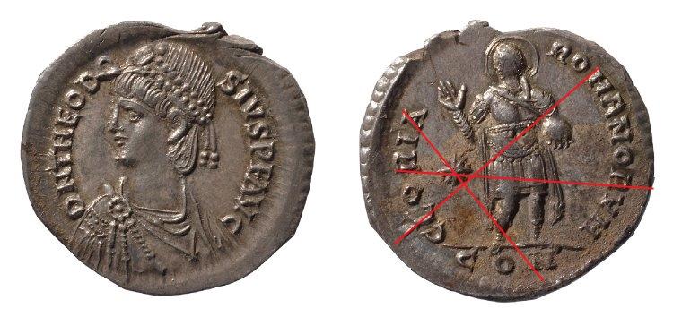 Comparaison de coins du Miliarense de Théodose II   Britis10